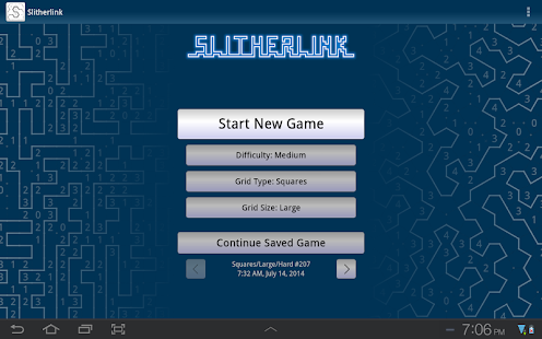 Slitherlink (free) - screenshot thumbnail
