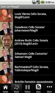 Samuel Magill, Cellist - screenshot thumbnail