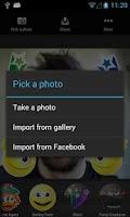 Screenshot of StickerTag