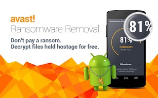 Screenshot of Avast Ransomware Removal