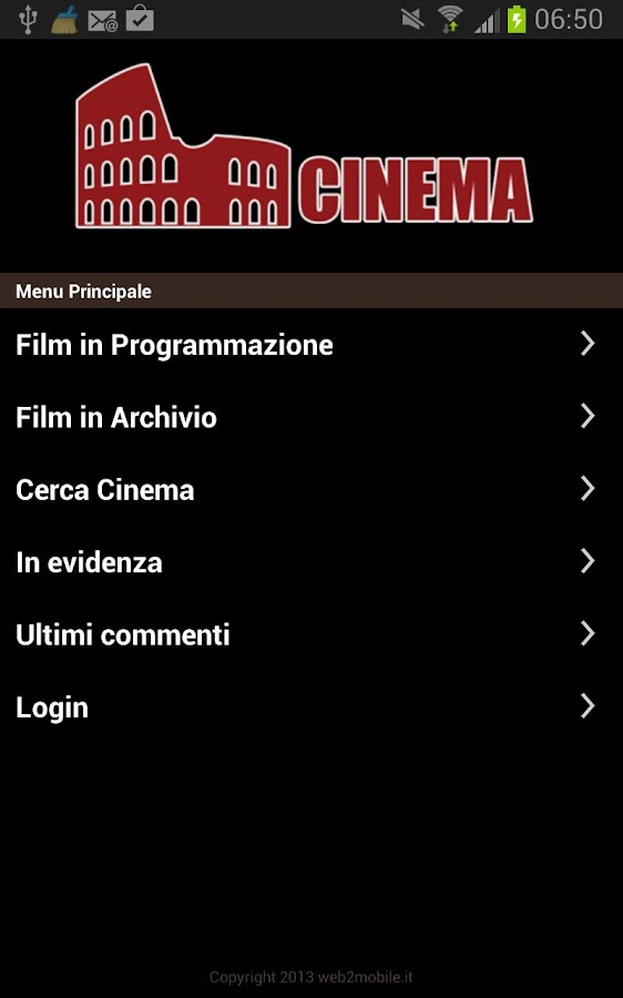 Cinema a Roma- screenshot