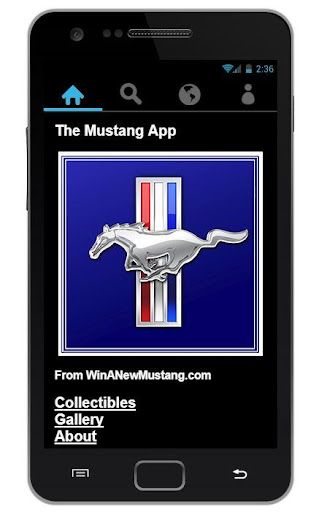 The Mustang App