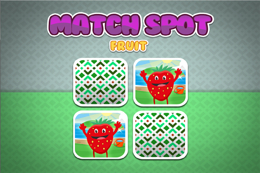 Memory Game Toddlers: Fruits
