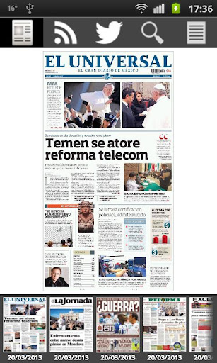 Prensa de México