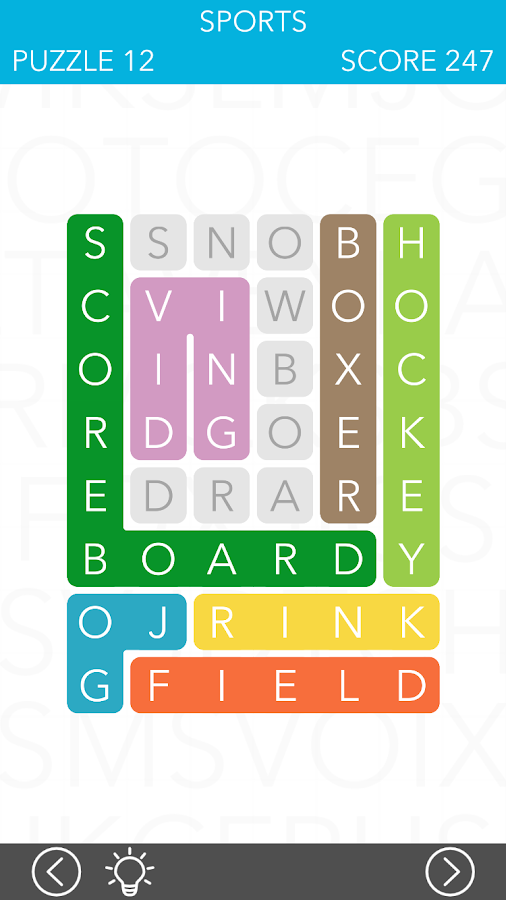 LINK: Connect the letters- screenshot