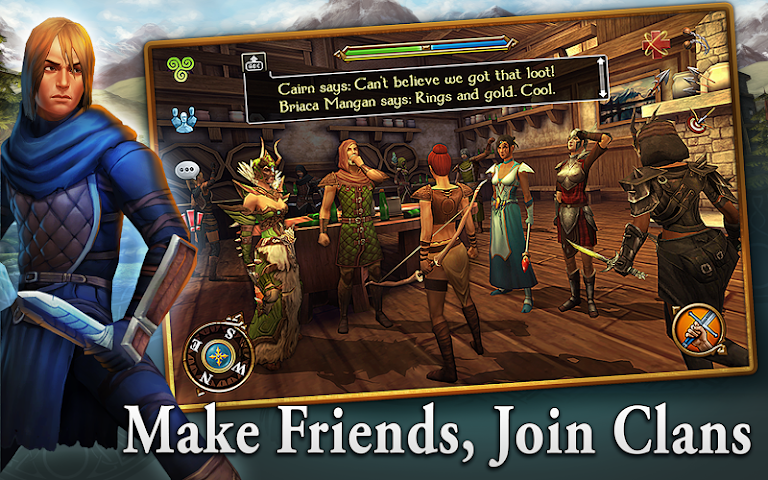 android 3D MMO Celtic Heroes Screenshot 2