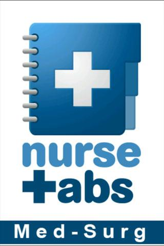 NurseTabs: Med/Surg - screenshot