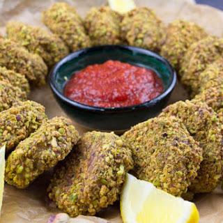 Pistachio Chicken Nuggets