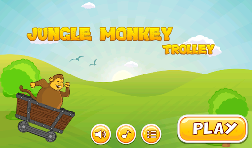 Jungle Monkey Trolley