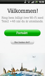 Tele2 +46 - screenshot thumbnail