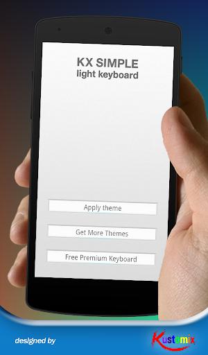 Kx Simple Light Keyboard