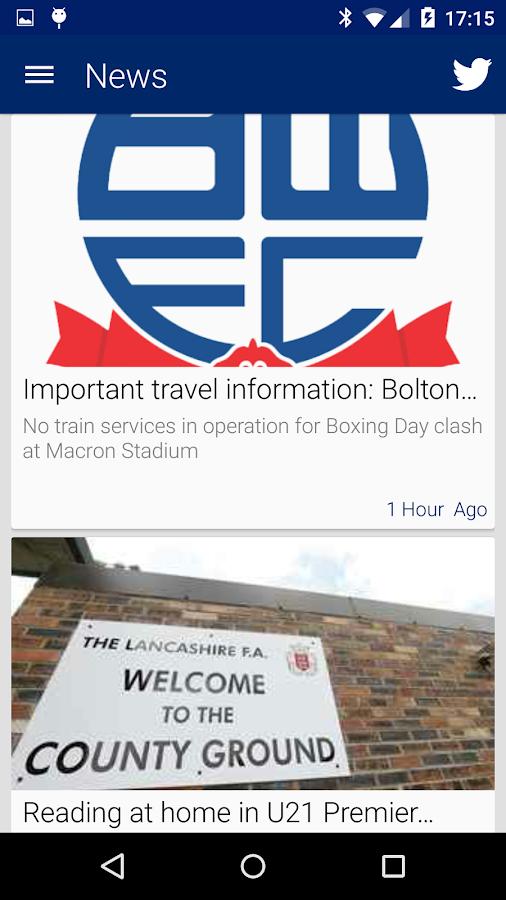 Bolton Wanderers- screenshot