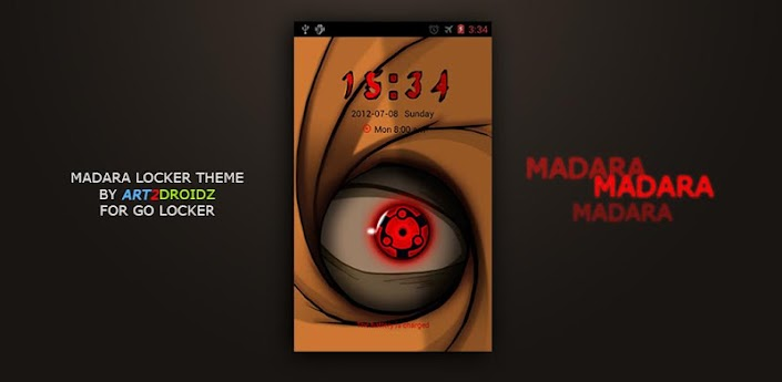 Madara Theme Go Locker