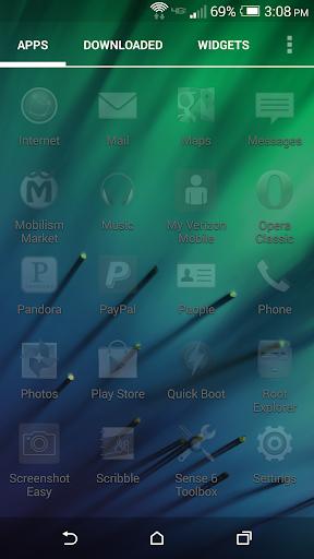 【免費個人化App】Ghost Icons Apex Nova-APP點子