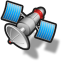 Display Satellite Information icon