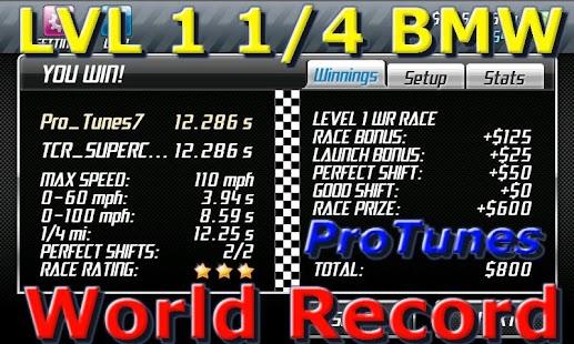 Drag Racing Pro Tunes - screenshot thumbnail