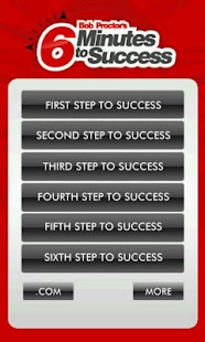 Six Steps to Success - screenshot thumbnail
