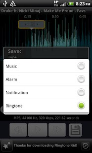 Ringtone Kid (Ringtone Maker!)- screenshot thumbnail