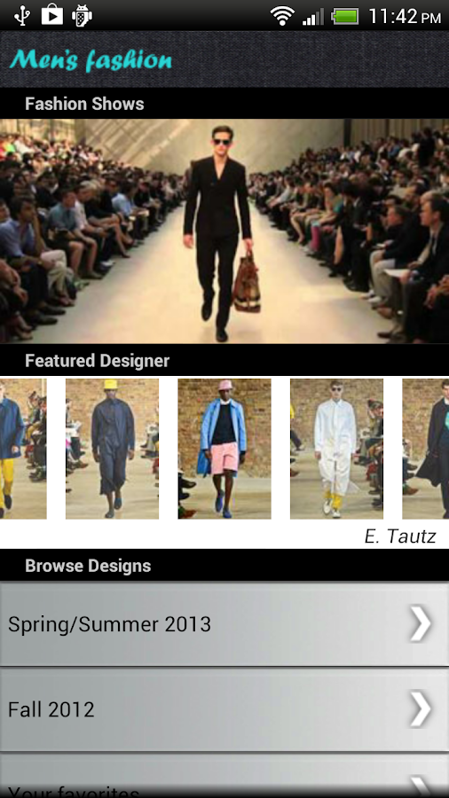 Men Fashion - screenshot