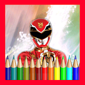 Coloring Books Rangers