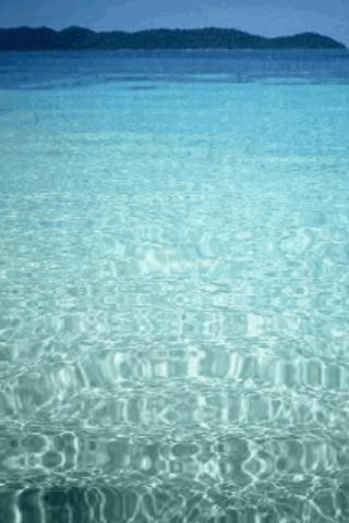 Clear Sea Live Wallpaper - screenshot