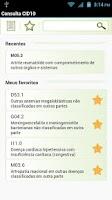Screenshot of Consulta CID10 Pro