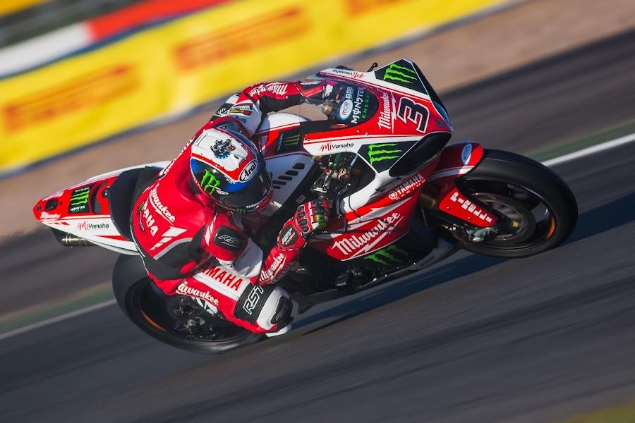 Josh BROOKES by Jonathan Henchman - Sports & Fitness Motorsports ( yamaha, monster, motorbike, superbike, racing, bsb, motorcycle, motorsport, silverstone,  )