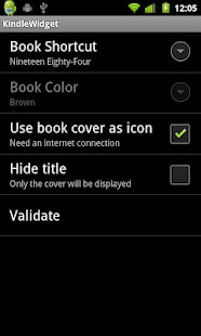 Kindle Widget - screenshot thumbnail