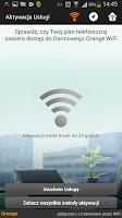 Screenshot of Darmowe Orange WiFi