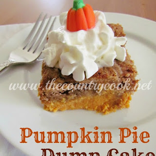 Pumpkin Pie Dump Cake.