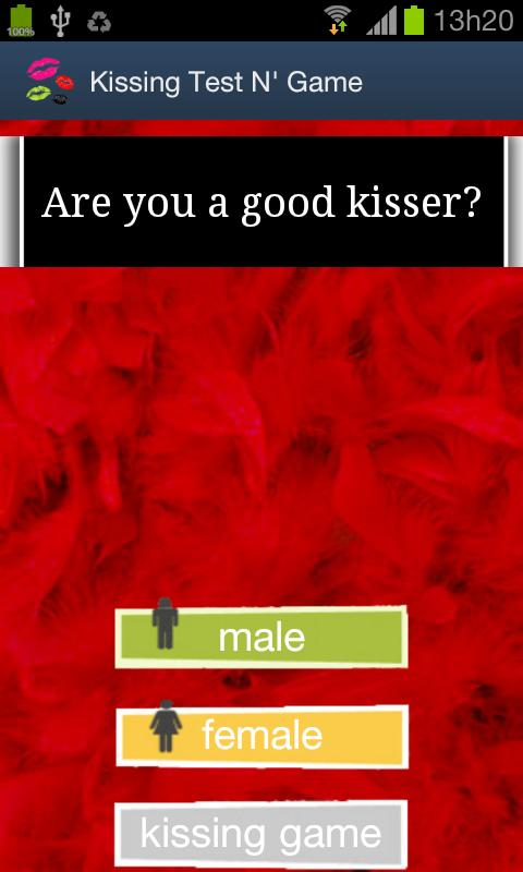 Kissing Test N' Game - screenshot