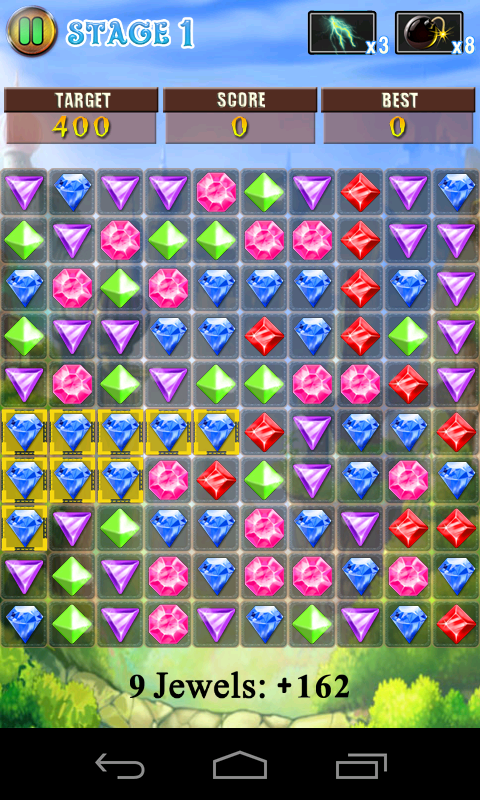 Jewels Pop - screenshot