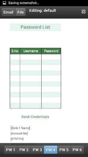 【免費生產應用App】Password List-APP點子