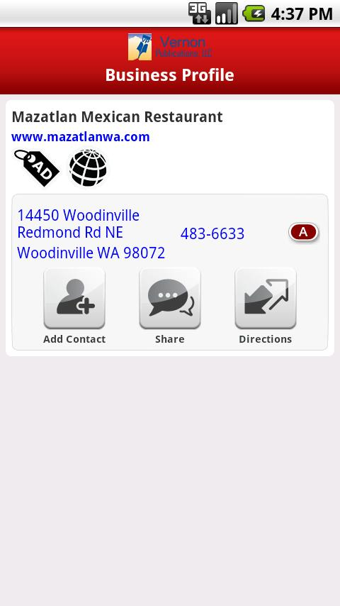 The Red Book Yellow Pages- screenshot