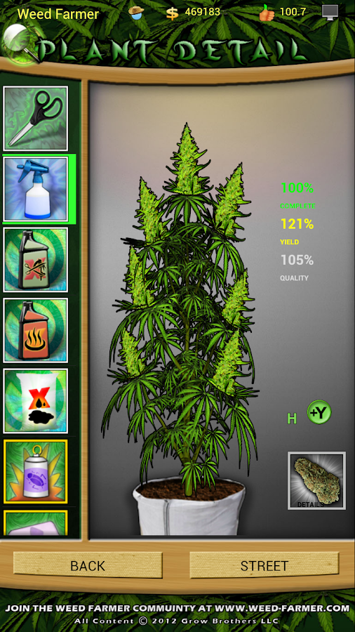 Weed Farmer Freemium - screenshot