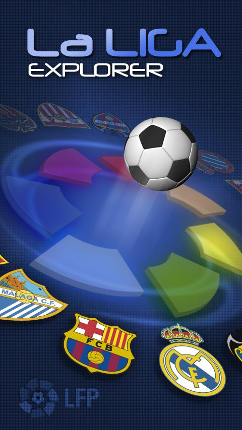La Liga Explorer - screenshot