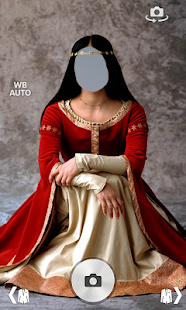 medival women dress montage screenshot