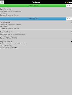 Rig Portal Mobile Ekran Görüntüsü