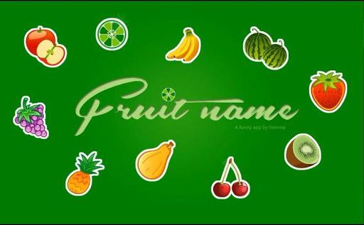 Fruit Name