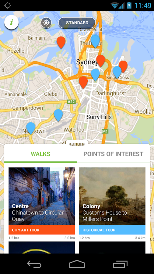 Sydney Culture Walks- screenshot