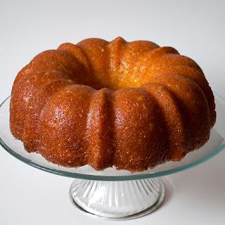 Glazed Poppyseed Cake.