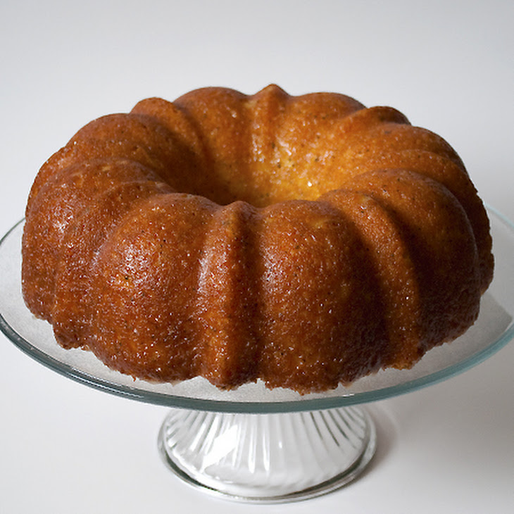 Glazed Poppyseed Cake Recipe
