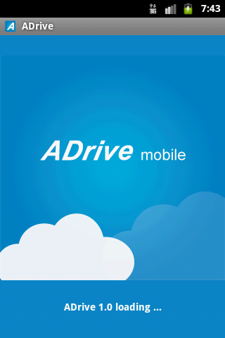 ADrive Mobile - screenshot