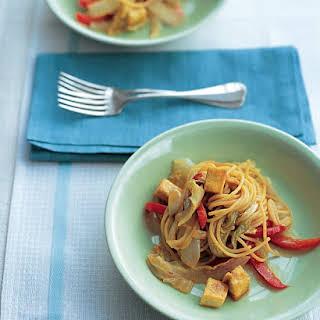 Tofu Stir-Fry with Noodles.