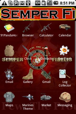 Marines Theme HD - screenshot