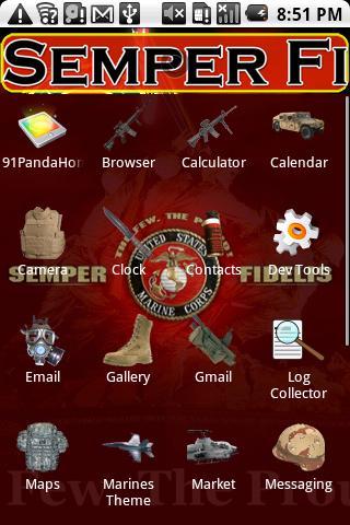 Marines Theme HD - screenshot