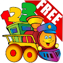 Kids Learn Number Train Free icon