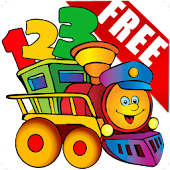 Free Kids Learn Number Train