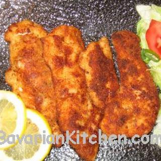 Schnitzel Wiener Art / Viennese Style Schnitzel