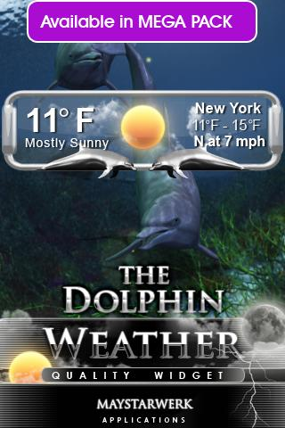 dolphin free live wallpaper - screenshot